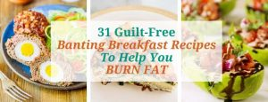 banting breakfast recipes